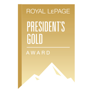 Royal Le Page President's Gold Award